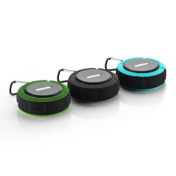 SC6 Promotional Outdoor IPX4 Waterproof Speaker Wireless Bluetooth Speaker with TF card 5