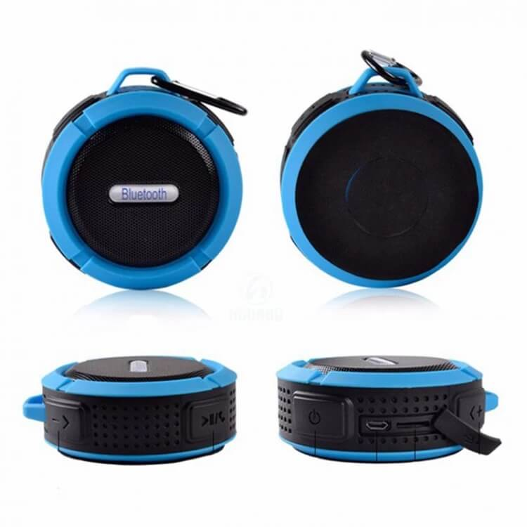 SC6 Promotional Outdoor IPX4 Waterproof Speaker Wireless Bluetooth Speaker with TF card 10
