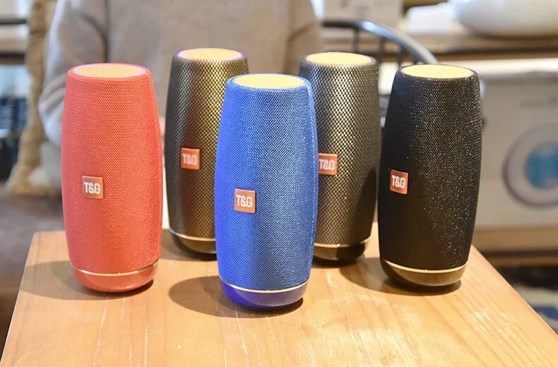 STG108 Latest Wireless Bluetooth Speaker With Super Bass 5