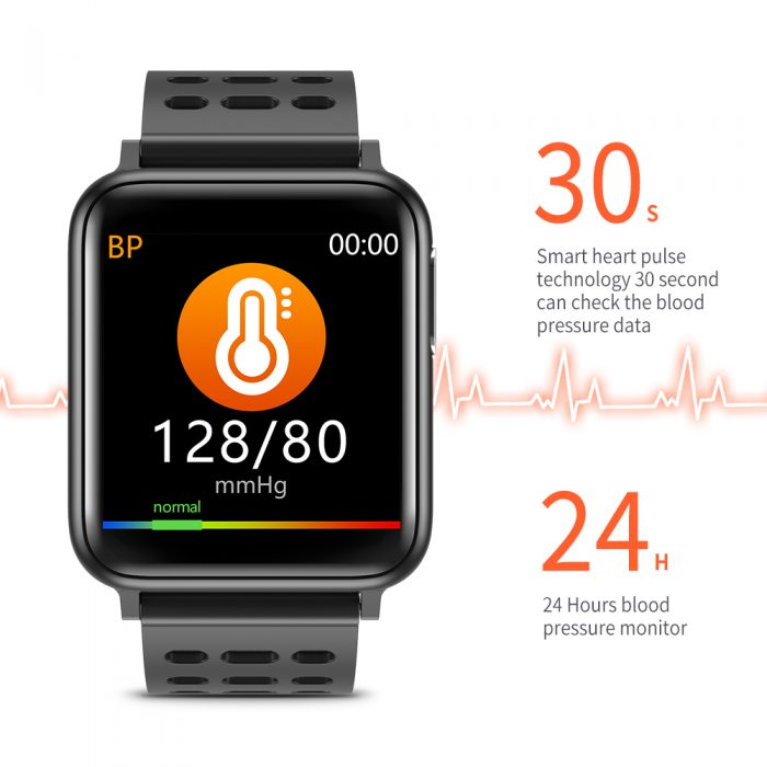 SV5 Smart Watch ECG+PPG Blood Pressure Heart Rate Blood Oxygen Monitoring Smart Band 6