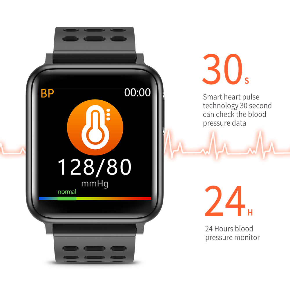 SV5 Smart Watch ECG+PPG Blood Pressure Heart Rate Blood Oxygen Monitoring Smart Band 5