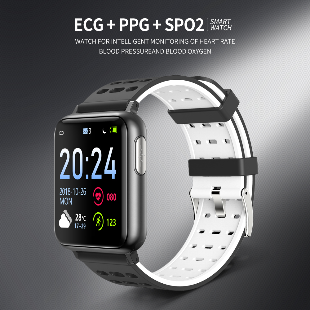 SV5 Smart Watch ECG+PPG Blood Pressure Heart Rate Blood Oxygen Monitoring Smart Band 10