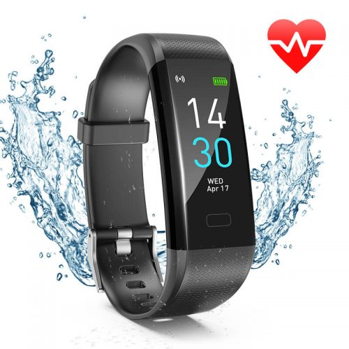 S-15 Colorful Screen Smart Wristband Medical Level Heart Rate Sports Bracelet Pedometer 58