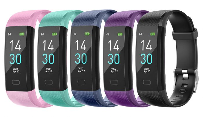 S-15 Colorful Screen Smart Wristband Medical Level Heart Rate Sports Bracelet Pedometer 6
