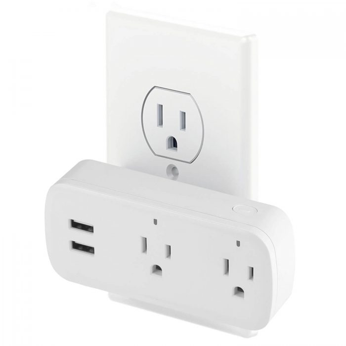 BD-08 Wifi Plug Socket US Wifi Power Outlet with USB 2