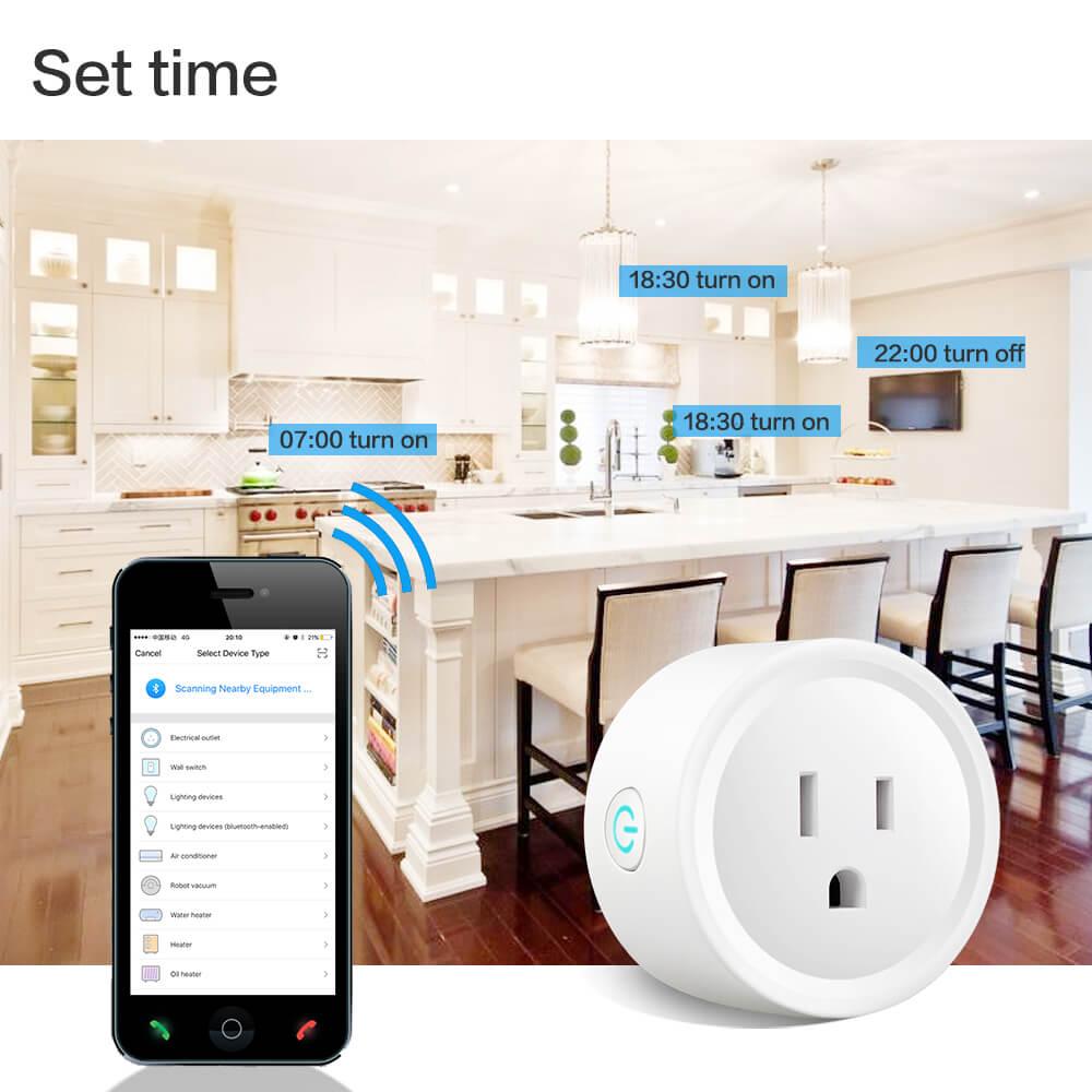 BD-01 110V Wifi Smart Home Plug US Standard Wifi plug Wifi Alexa 14