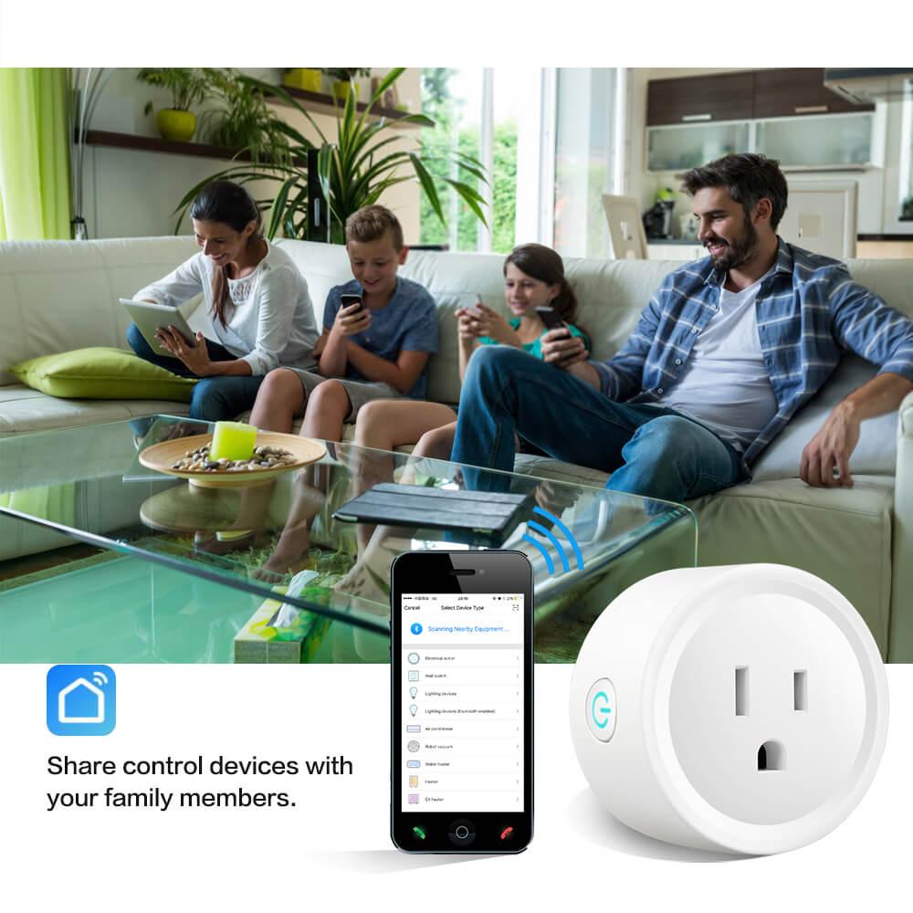 BD-01 110V Wifi Smart Home Plug US Standard Wifi plug Wifi Alexa 18