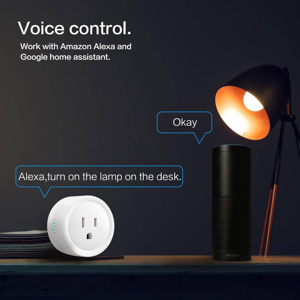 BD-01 110V Wifi Smart Home Plug US Standard Wifi plug Wifi Alexa 16