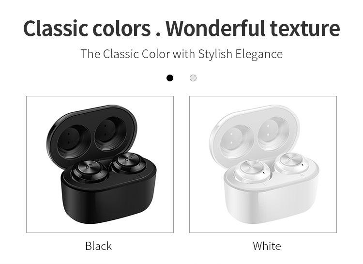 Hot sale Wireless Earphone Bluetooths 5.0 A6 tws Earbuds Twins Mini Bluetooth True Wireless Headset 20