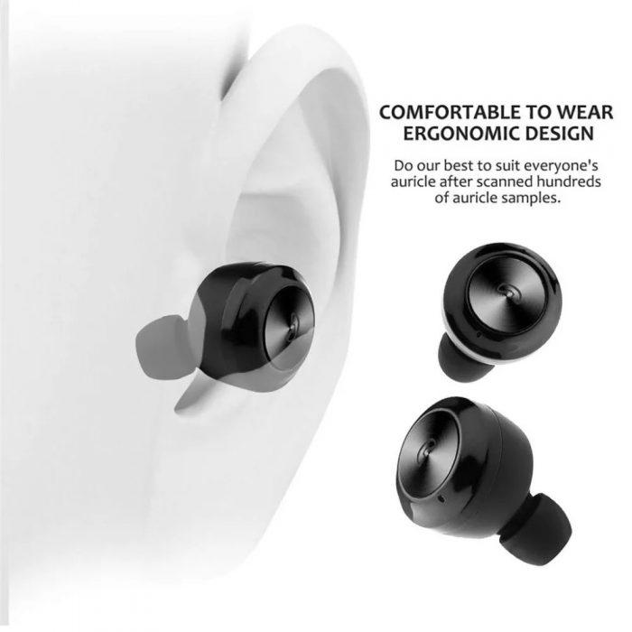 Hot sale Wireless Earphone Bluetooths 5.0 A6 tws Earbuds Twins Mini Bluetooth True Wireless Headset 6