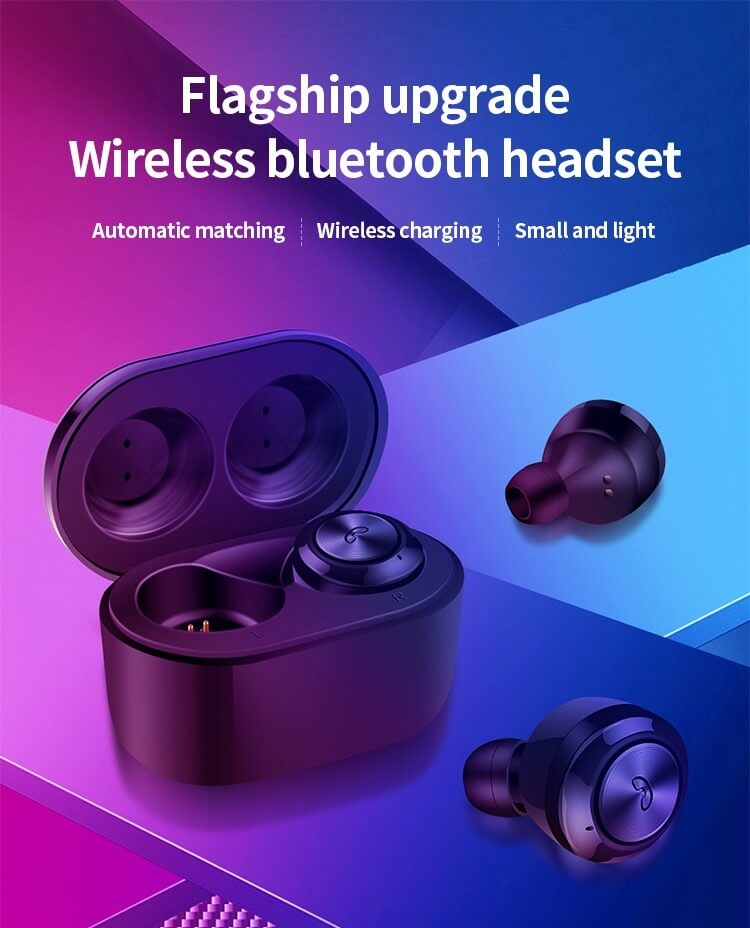 Hot sale Wireless Earphone Bluetooths 5.0 A6 tws Earbuds Twins Mini Bluetooth True Wireless Headset 12