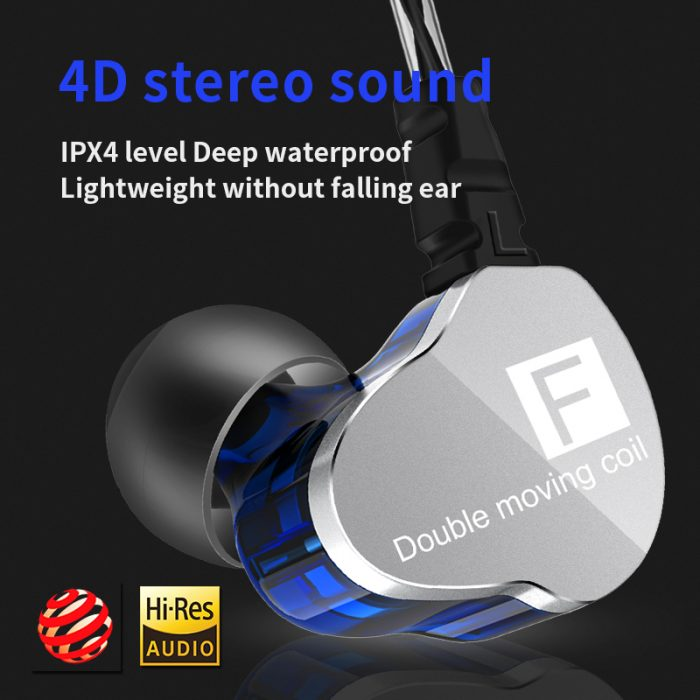 CK9 Bass Hifi Stereo Wired Earphone Running Sport Earphone 4