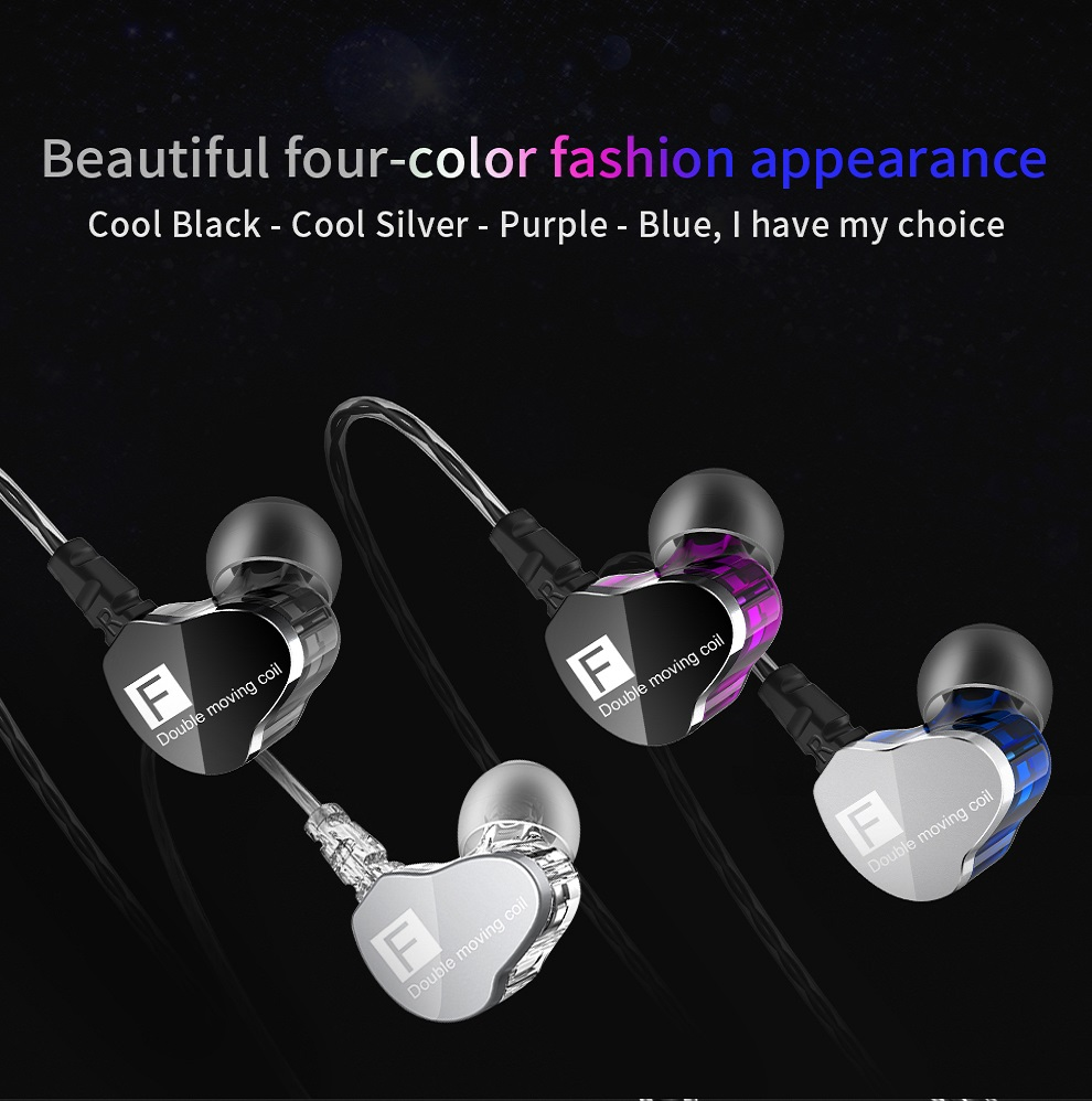 CK9 Bass Hifi Stereo Wired Earphone Running Sport Earphone 12
