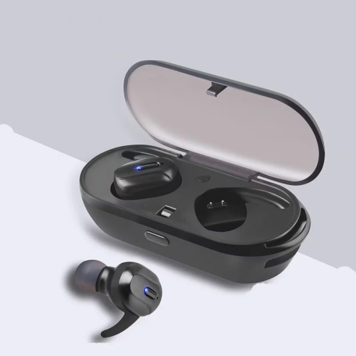 T26 TWS Headphone Bluetooth 5.0 Bass Mini Wireless Earphone Earbud 2