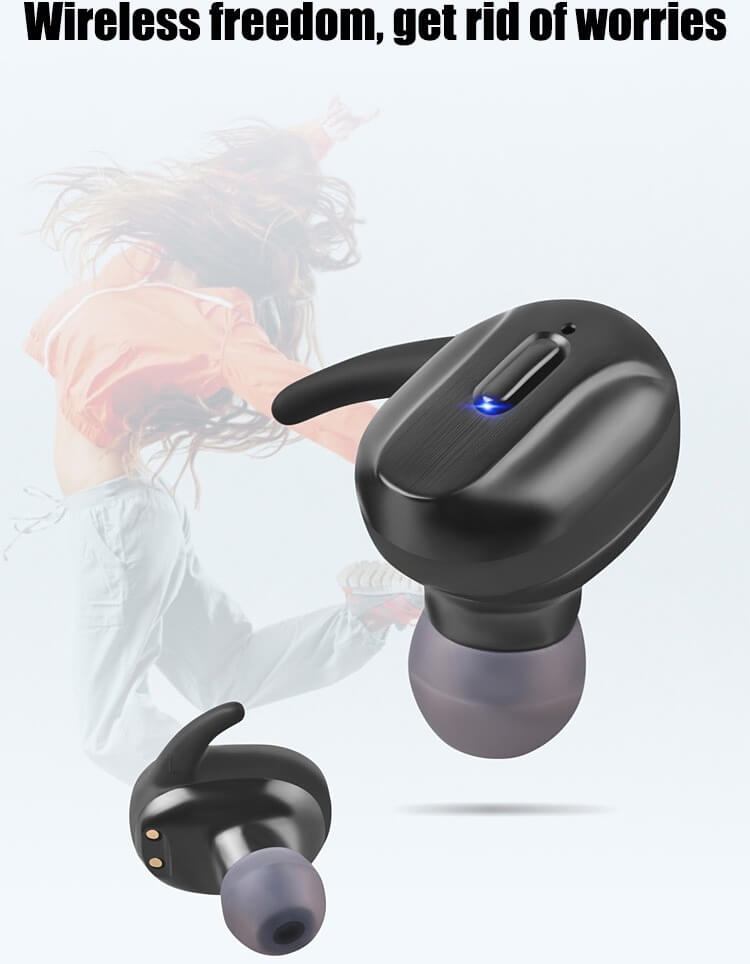 T26 TWS Headphone Bluetooth 5.0 Bass Mini Wireless Earphone Earbud 22