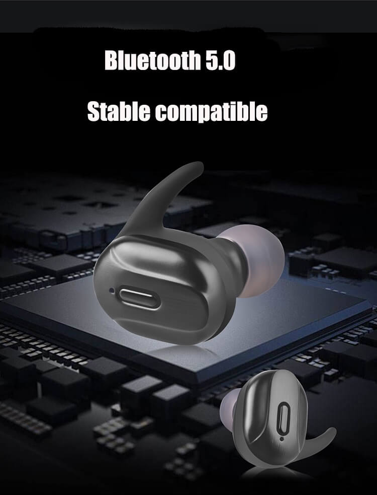 T26 TWS Headphone Bluetooth 5.0 Bass Mini Wireless Earphone Earbud 24