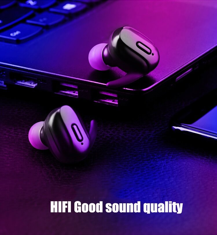 T26 TWS Headphone Bluetooth 5.0 Bass Mini Wireless Earphone Earbud 14