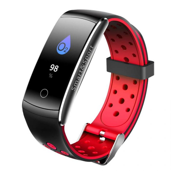 Newest Smartwatch Q8S ip68 Waterproof Heart Rate Monitor Smart Band Fitness Tracker 4