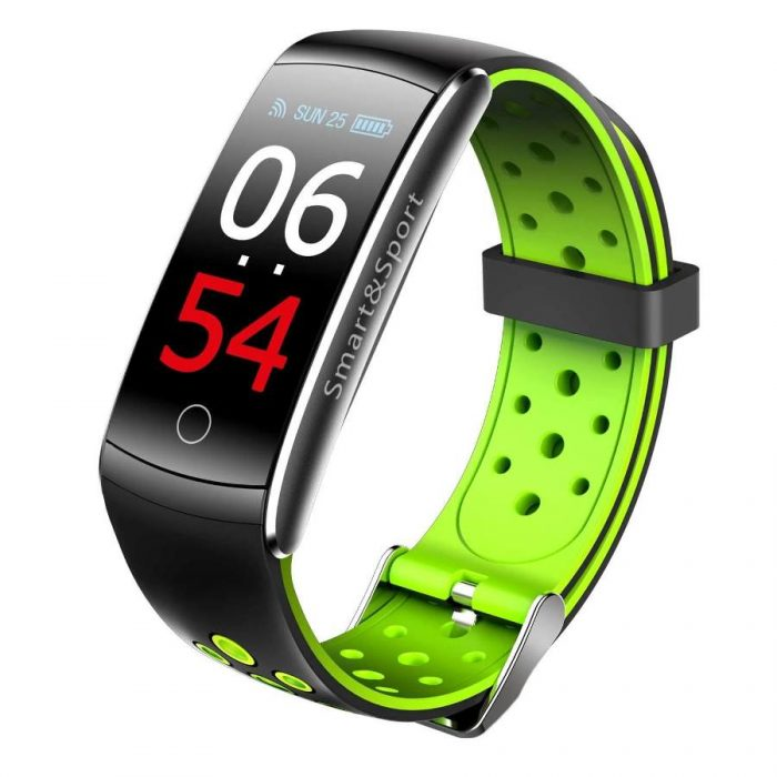 Newest Smartwatch Q8S ip68 Waterproof Heart Rate Monitor Smart Band Fitness Tracker 2