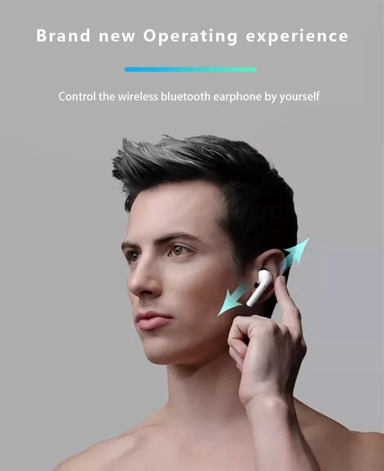 i16 best music mini wireless headphone bluetooth TWS Earbuds for smart phone 20