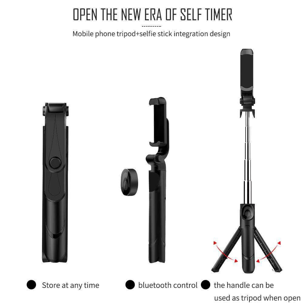 Top selling New Bluetooth Selfie Stick Mobile Phone Tripod Mount 18