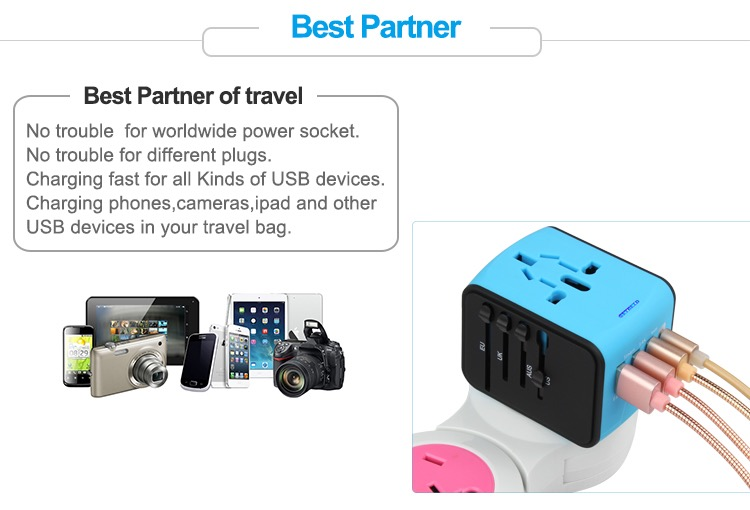Wholesale Mobile Phone Accessory 2019 hot Universal C Type Travel Adapter USB Adapter 20