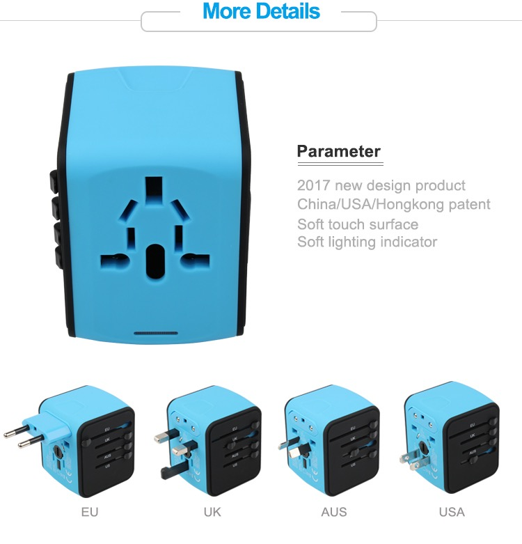Wholesale Mobile Phone Accessory 2019 hot Universal C Type Travel Adapter USB Adapter 16