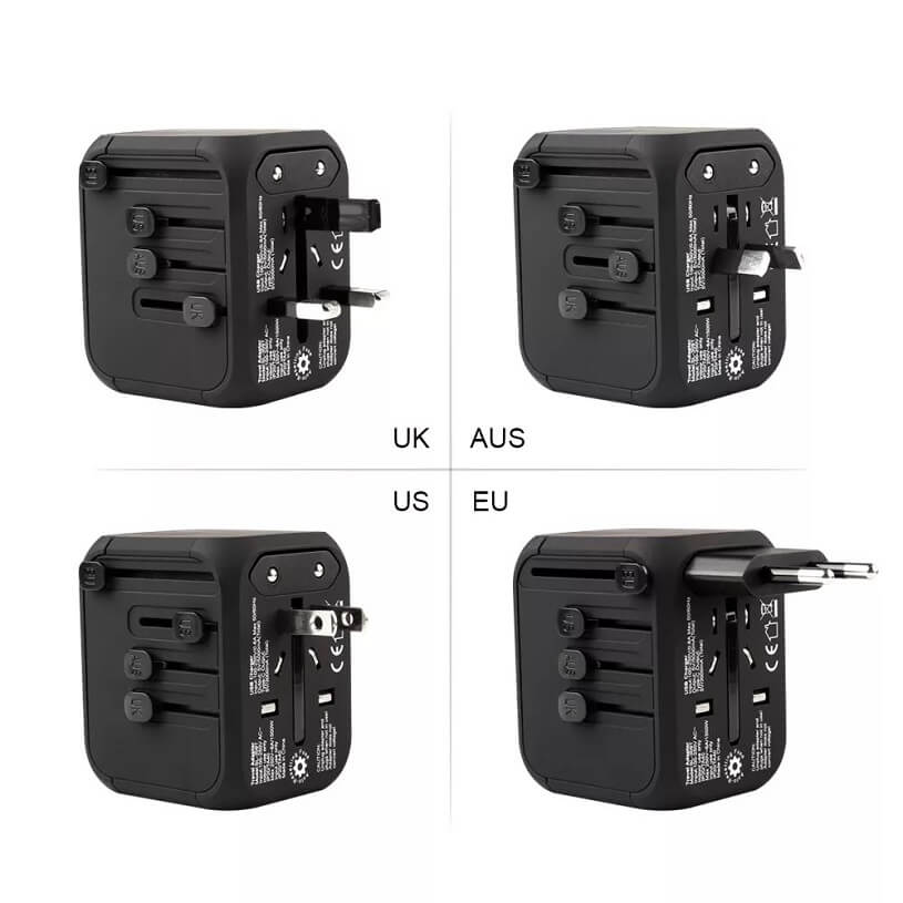 Hot Sale Universal Travel Adapter All-in-one International Power Adapter with 5A type-c 4USB universal travel adaptor 7