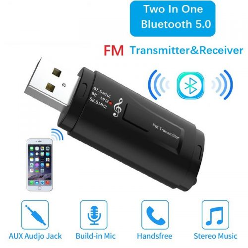 Hot Sale USB Car Bluetooth Receiver and FM Transmitter 56