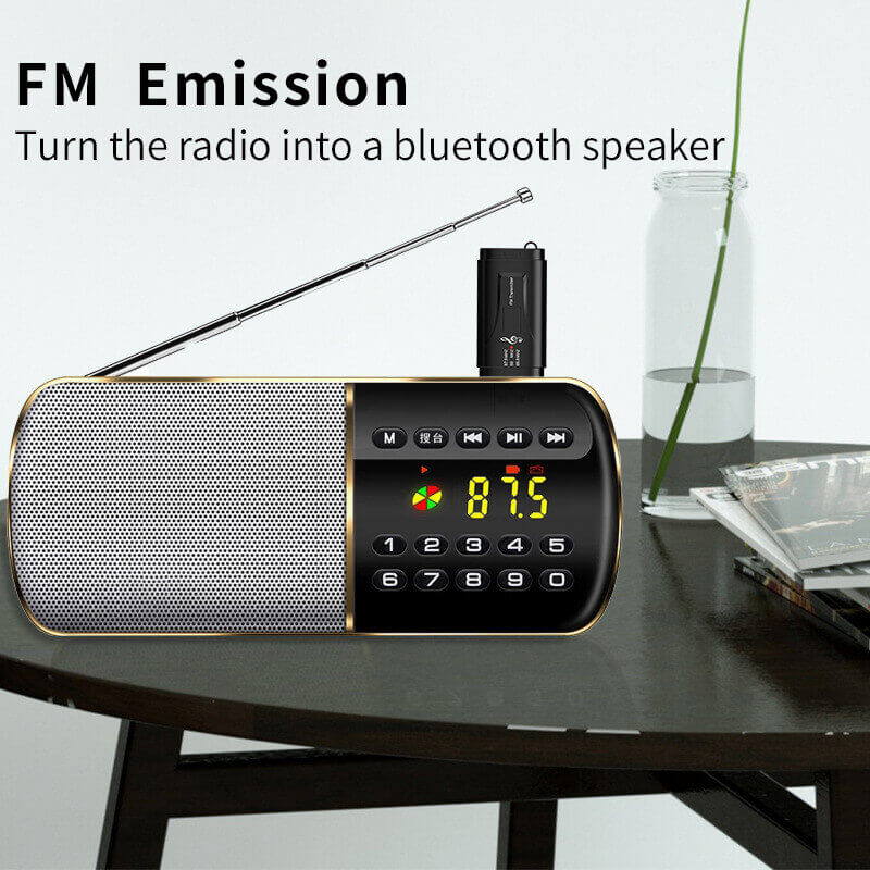 Hot Sale USB Car Bluetooth Receiver and FM Transmitter 5