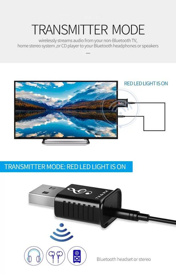Best Selling Bluetooth Audio Transmitter and Receiver Adapter 22