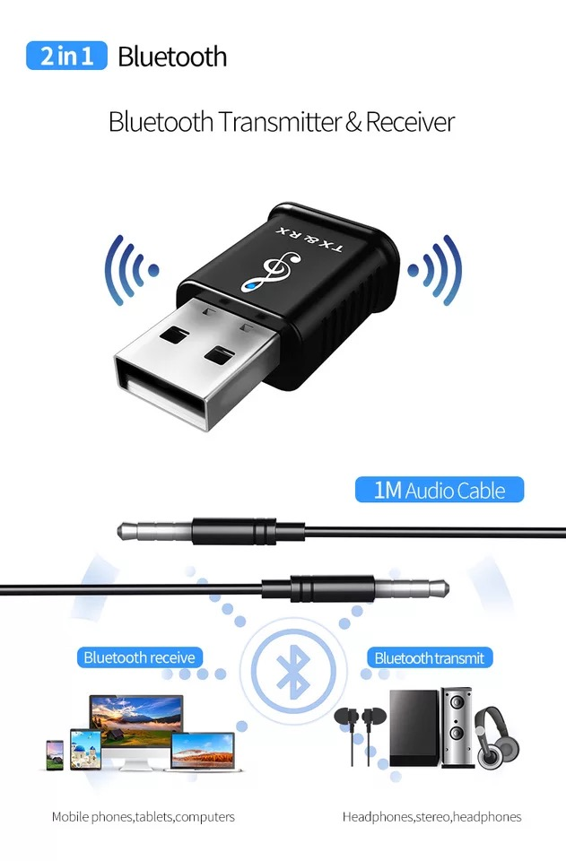 Best Selling Bluetooth Audio Transmitter and Receiver Adapter 30