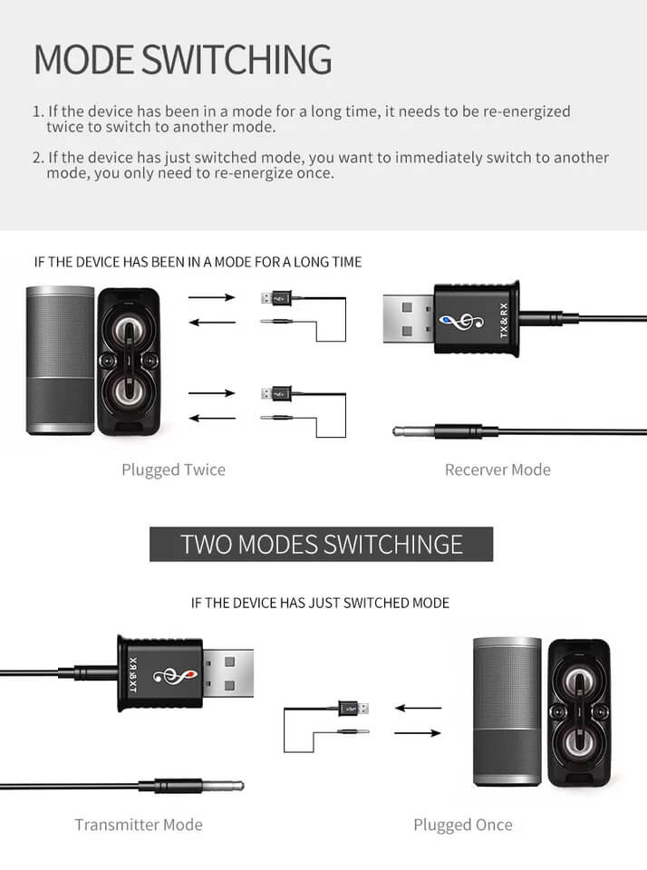 Best Selling Bluetooth Audio Transmitter and Receiver Adapter 18
