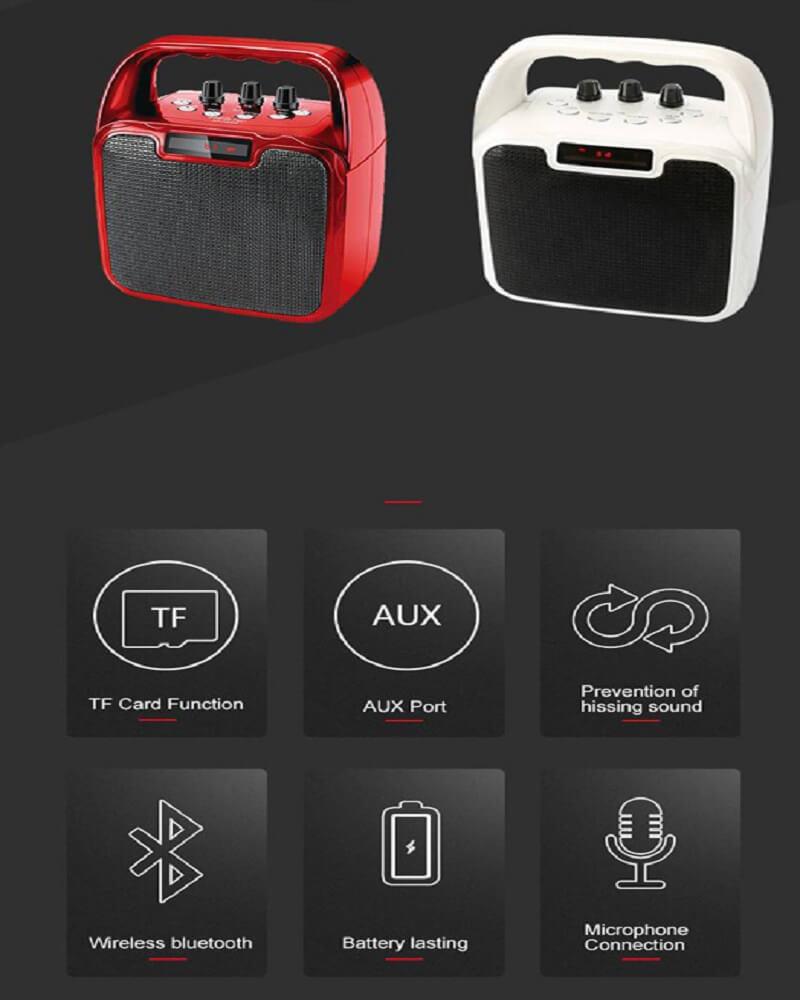 Hot Selling 10W Bluetooth Wireless Amplifier Karaoke Microphone Speaker 20