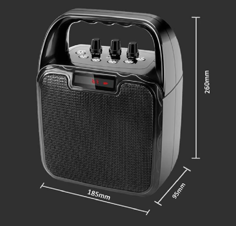 Hot Selling 10W Bluetooth Wireless Amplifier Karaoke Microphone Speaker 30