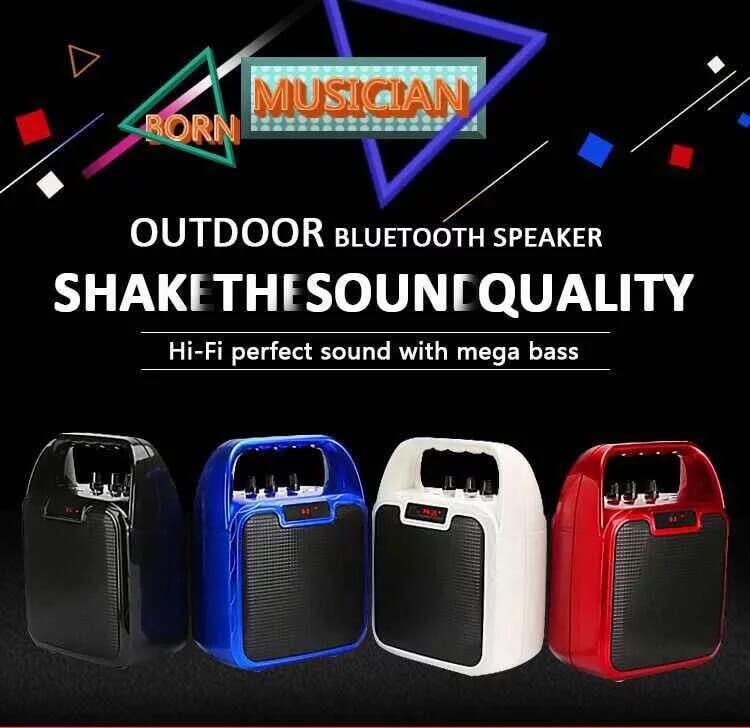 Hot Selling 10W Bluetooth Wireless Amplifier Karaoke Microphone Speaker 3
