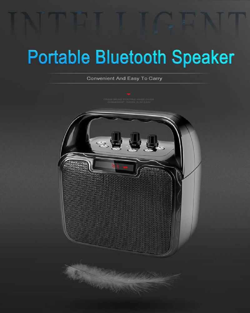 Hot Selling 10W Bluetooth Wireless Amplifier Karaoke Microphone Speaker 16