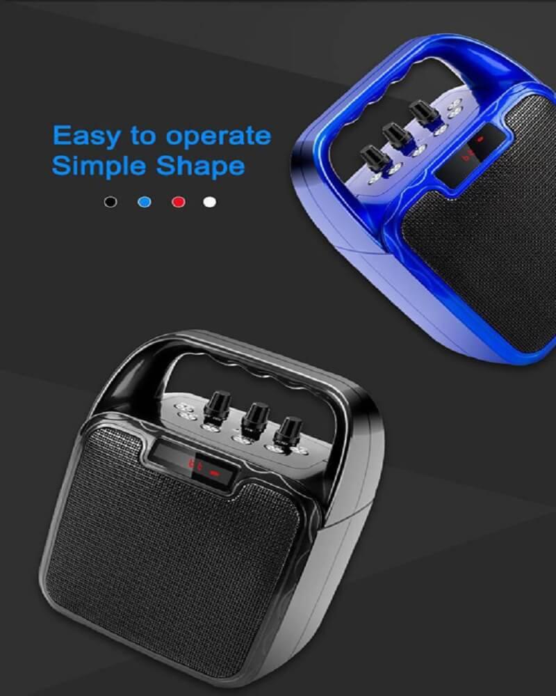 Hot Selling 10W Bluetooth Wireless Amplifier Karaoke Microphone Speaker 18