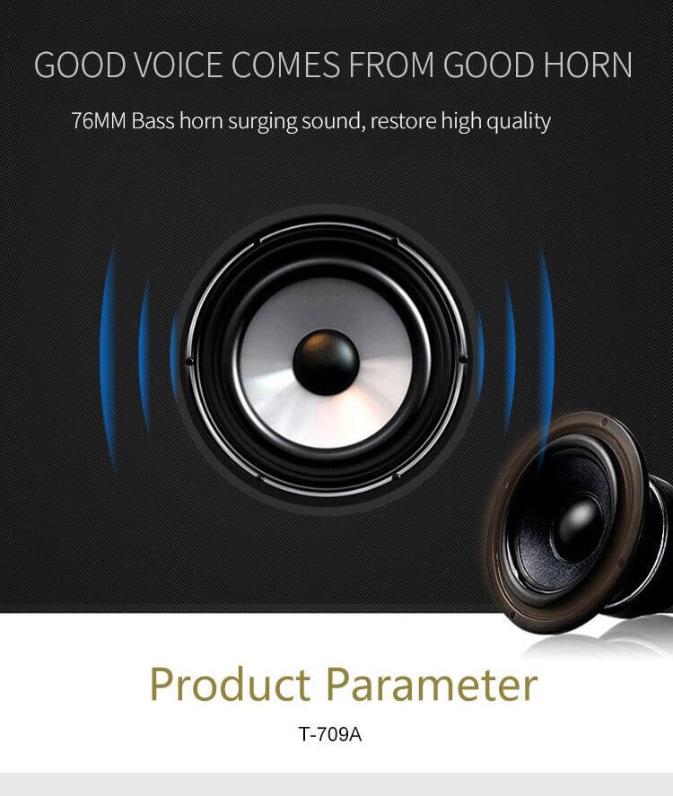 Stereo Bass FM Radio Mini Portable Wireless Bluetooth  Speaker 16