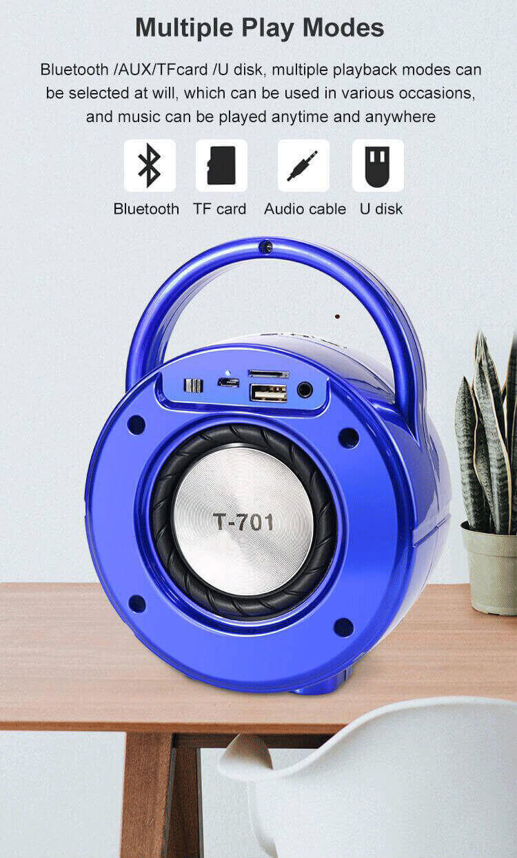 Good Sound Quality Mini Wireless Portable Bluetooth Speaker 18