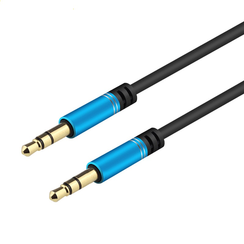 Metal Plug 3.5MM to 3.5mm Audio Cable 18