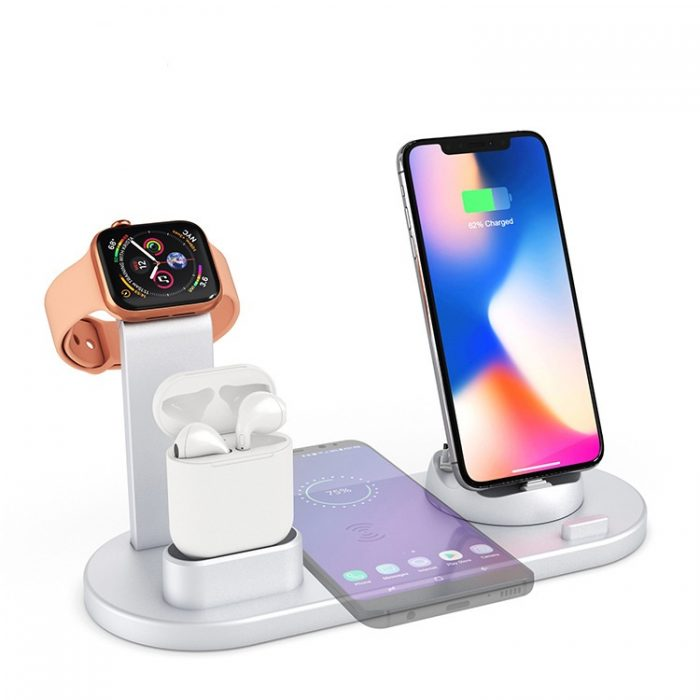 2019 Newest 3 in 1 Wireless Charger for Phone Watch Earphone 2