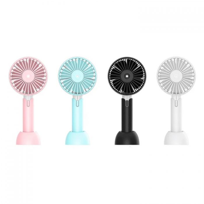 Creative Mini Hand Fan for Office Use Rechargeable USB Handheld Fan 2