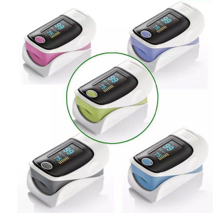 Hot-selling Finger Pulse Oximeter Medical Diagnostic Pulse Oximeter 2019 12