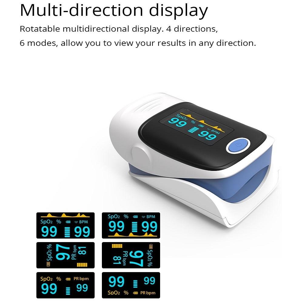 Hot-selling Finger Pulse Oximeter Medical Diagnostic Pulse Oximeter 2019 26