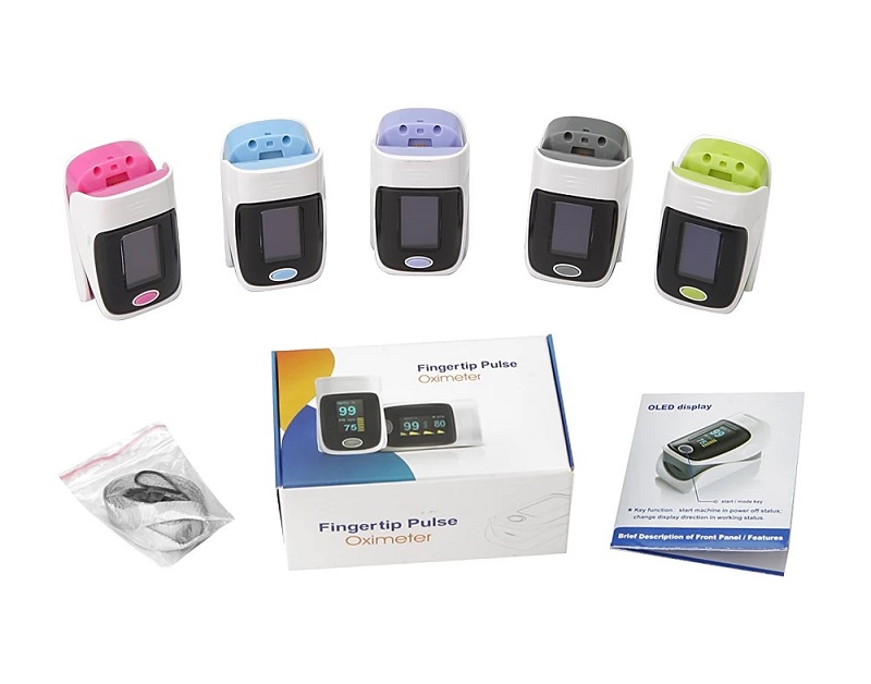 Hot-selling Finger Pulse Oximeter Medical Diagnostic Pulse Oximeter 2019 13