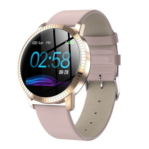 CF18 Waterproof Smartwatch Blood Pressure Monitor Smart Watch Women Band 48