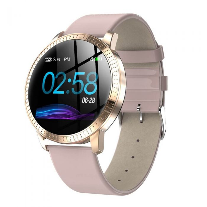 CF18 Waterproof Smartwatch Blood Pressure Monitor Smart Watch Women Band 2