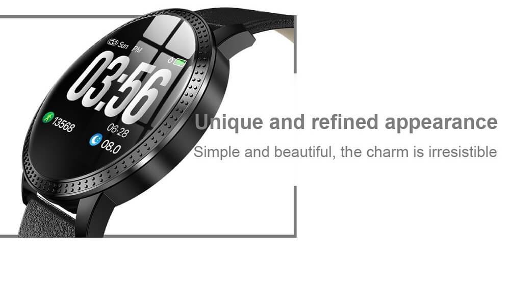 CF18 Waterproof Smartwatch Blood Pressure Monitor Smart Watch Women Band 22