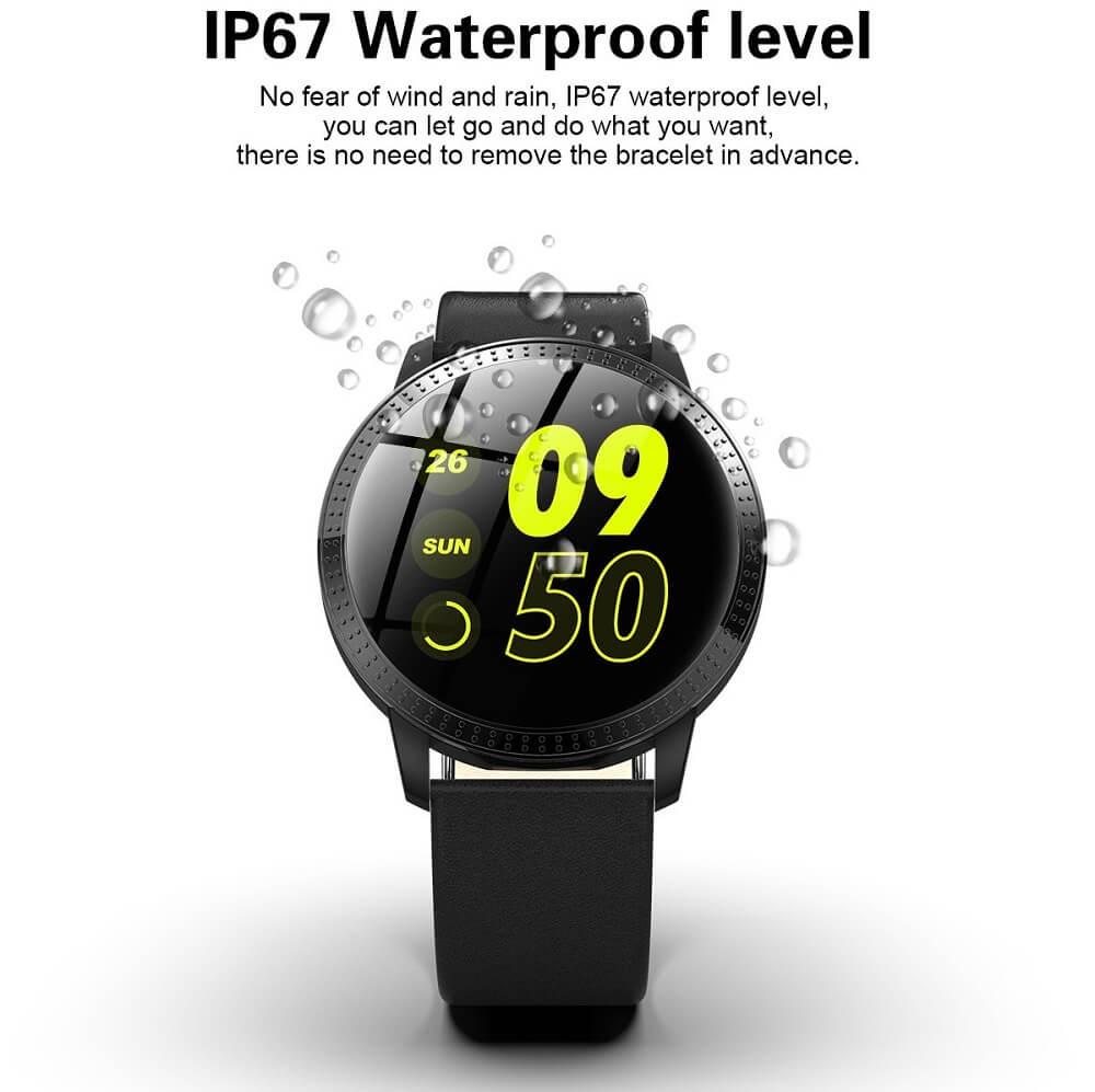 CF18 Waterproof Smartwatch Blood Pressure Monitor Smart Watch Women Band 28